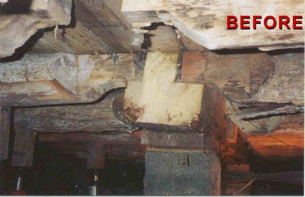 Repair Floor Joist Neidlinger Structural Repair Foundation Repair Sagging  Floor